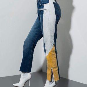 Levi's Haritage Custom Patchwork Jeans Size 28-29